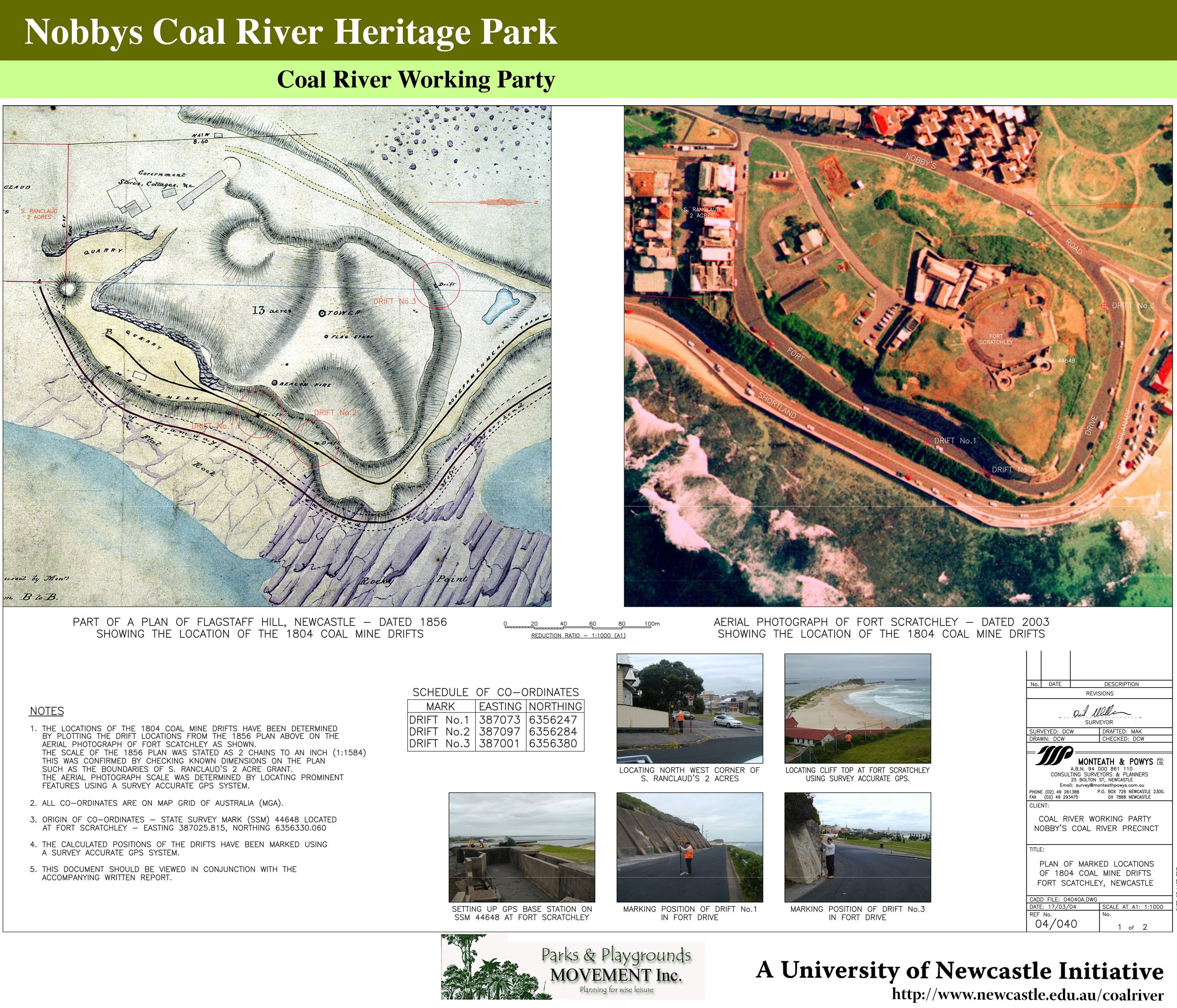 Coal River Working Party Poster No. 9 - Milestones - Monteath & Powys Overlay