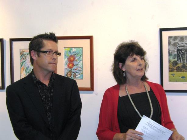 Opening of Interpretations Exhibition 3rd April 2009