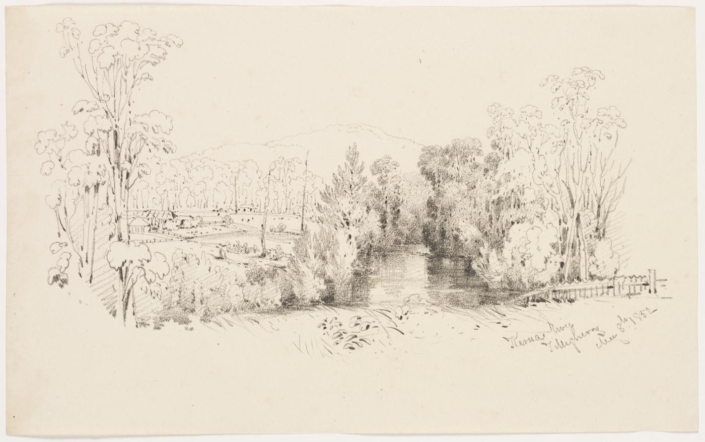54. Kerua River, Tilligherry, 8th May 1852
