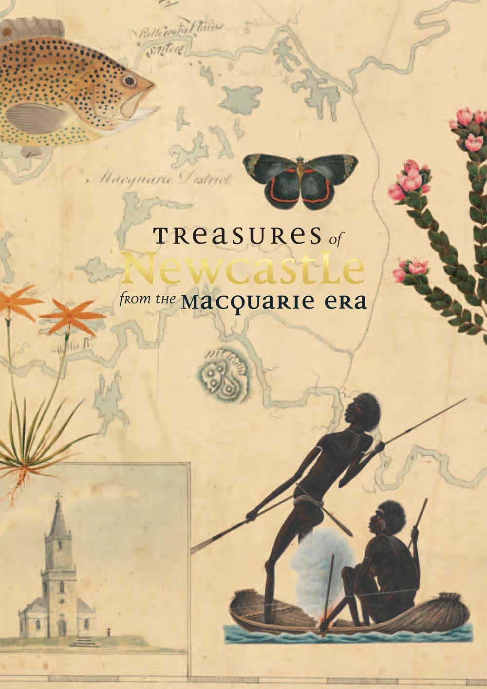 Cover of Treasures Exhibition Catalogue