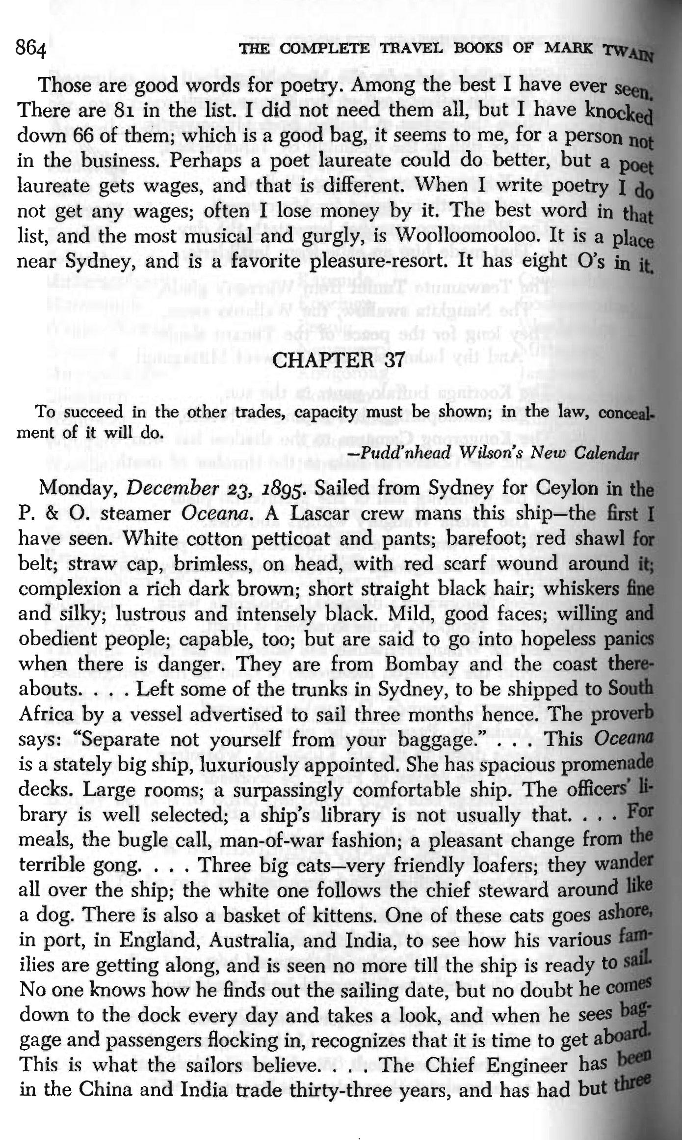 Twain, Following the Equator, p. 864