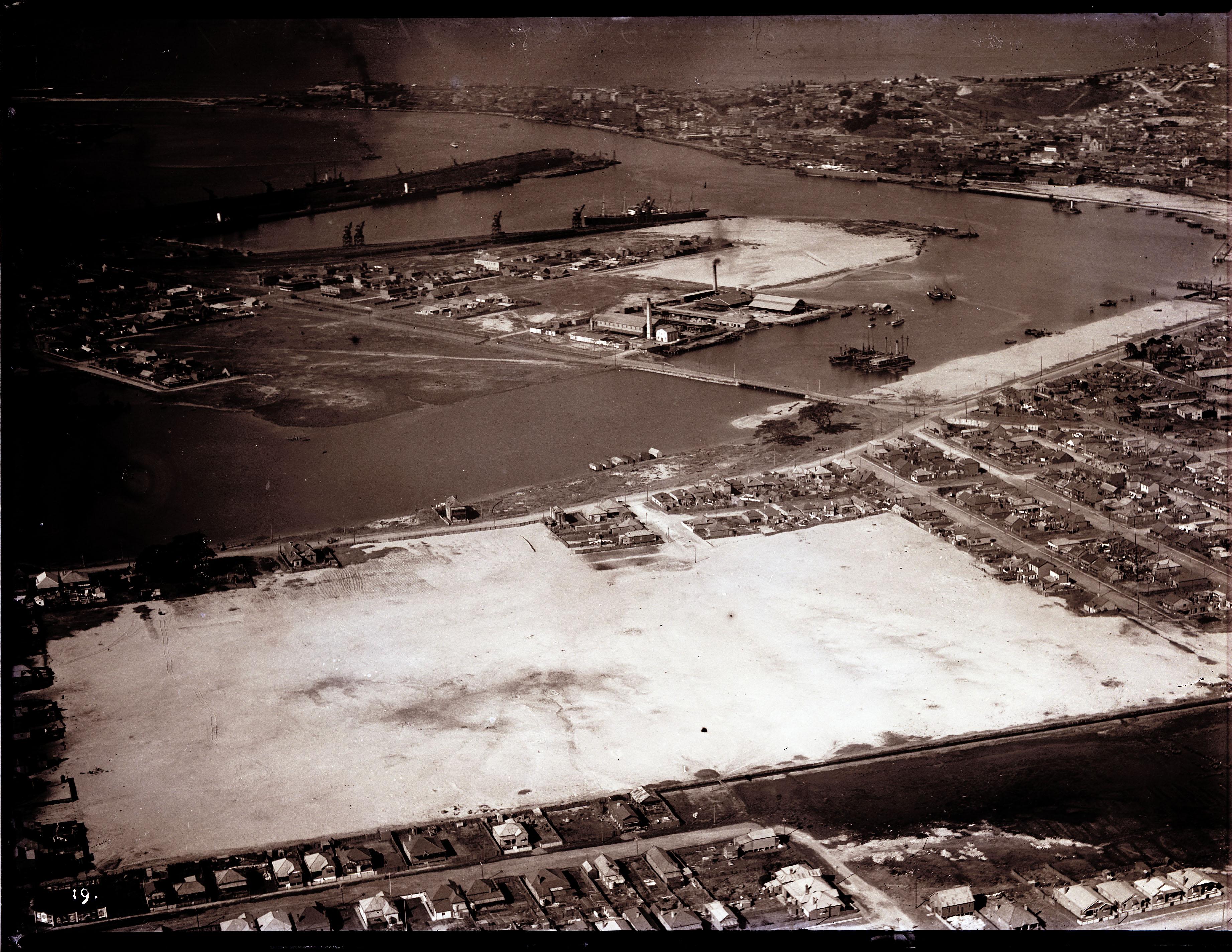 Newcastle aerial, 1935 (Image 69 Courtesy of Phillip Warren)