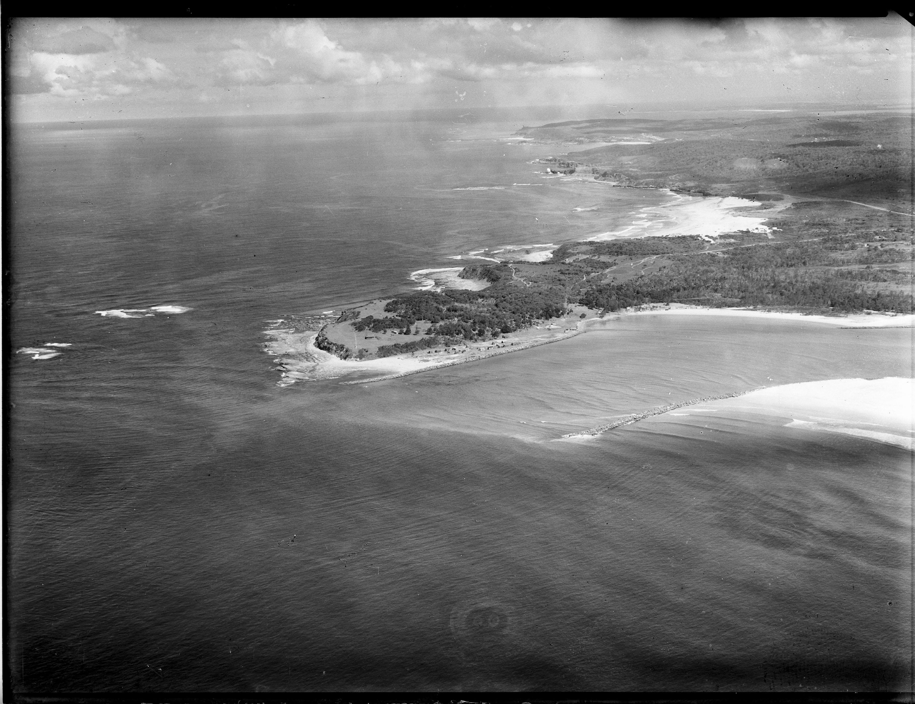 Newcastle aerial, 1935 (Image 72 Courtesy of Phillip Warren)
