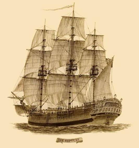 Neptune https://en.wikipedia.org/wiki/Second_Fleet_%28Australia%29#/media/File:Convict_ship_Neptune00.jpg