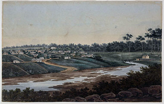 Image 6. A view of Parramatta Port Jackson 1809 by J. W Lewin Mitchell Library, State Library of NSW http://www.migrationheritage.nsw.gov.au/cms/wp-content/uploads/2012/04/parra2.jpg
