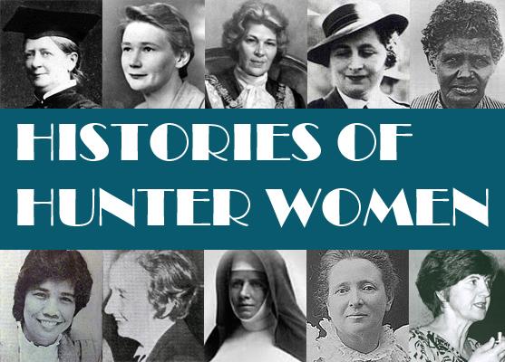 Women's Histories Hunter Banner