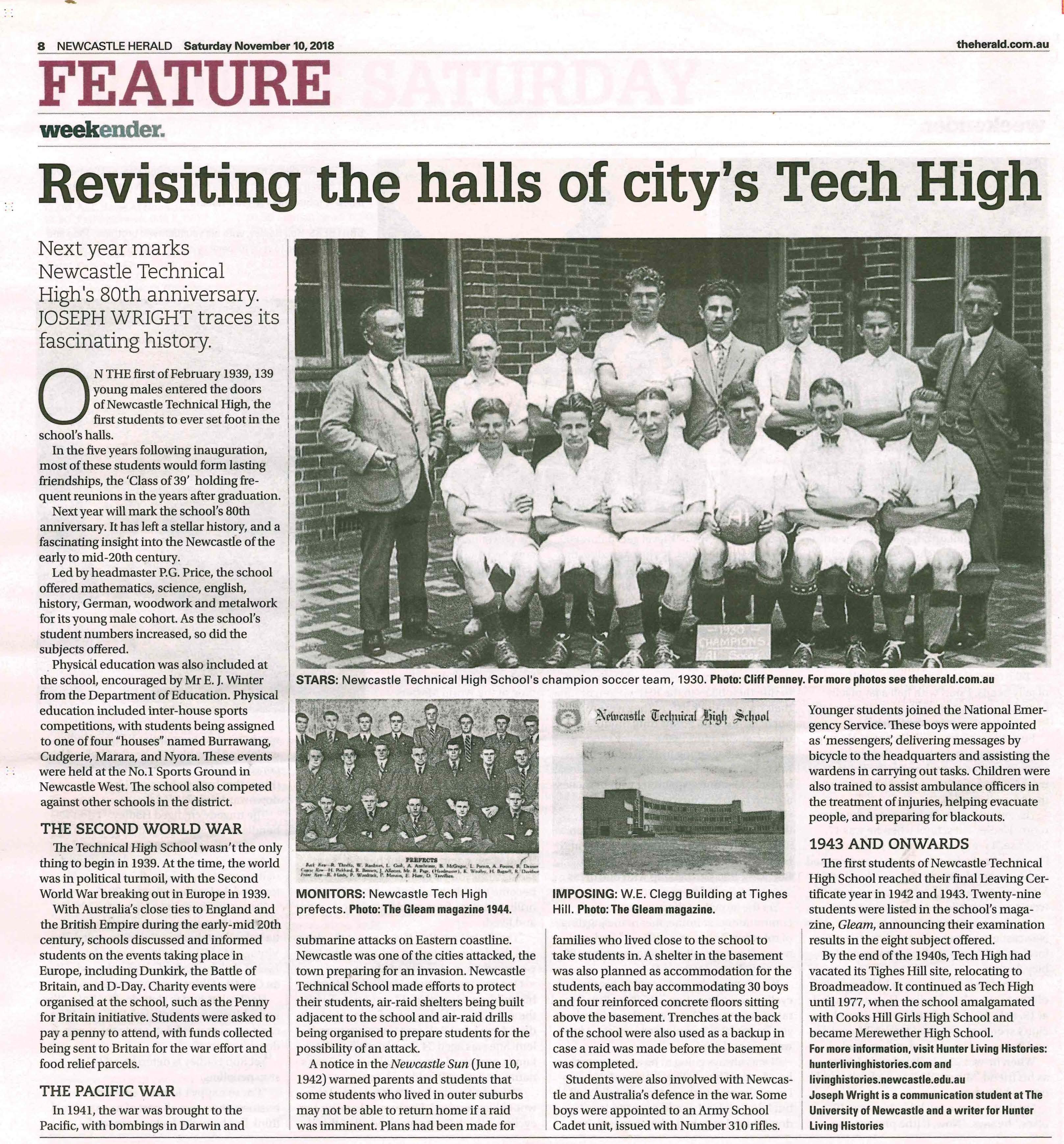 Newcastle Tech High