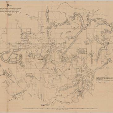 Map - Lower Hunter 1857