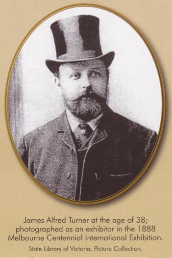 J.A. Turner portrait aka Josh Curley time traveller