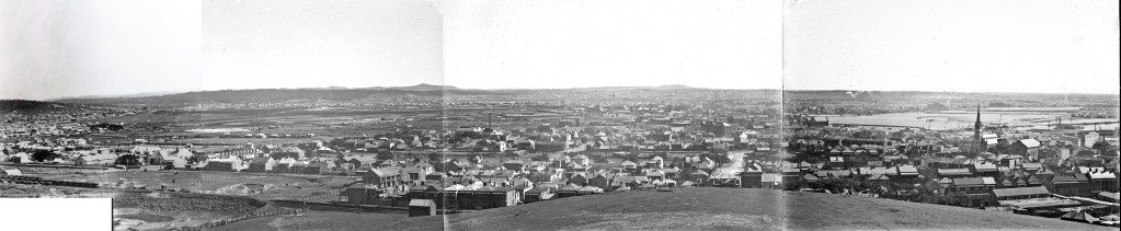 To show the addition of the missing glass plate to the existing 1906 panorama of Cooks Hill Newcastle in 1906.