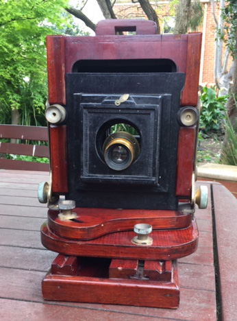 Red Cedar Camera purported to have been made by Fred Barrie